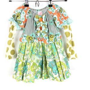 Giggle moon girls 4T top tunic long sleeve
